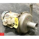 APV Centrifugal Pump Model WI80-50 with Reliance 10 HP 1,755 RPM Motor - Rigging Fee $ 50