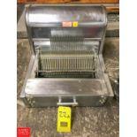 Berkel S/S Table Top Bread Slicer Rigging fee: 25