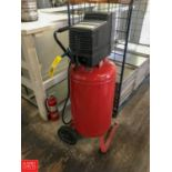 Craftsman 5.5 HP Oil-Free Air Compressor Model 919.165230 with 25 Gallon Tank, Mounted on Portable