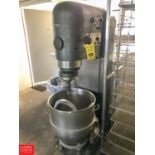 Hobart V-1401 Mixer, S/N 1512688, with 140 Quart Bowl, Hook and Paddle Attachments Rigging fee: 150