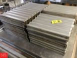 Lot 33 - French Bread Racks, Performated Aluminum Rigging fee: 25