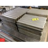 French Bread Racks, Performated Aluminum Rigging fee: 25