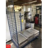 Perforated Aluminum Sheet Pans and Cart Rigging fee: 25