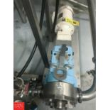 """WCB Size 060 Positive Displacement Pump with 2.5"""" S/S Head, Clamp Type, Mounted on S/S Base with"""