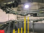 Lot 294 - 70'+ Hytrol Power Belt and Roller Conveyor with Incline, 90° and 180° Turns and Drive