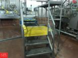 Lot 245 - S/S Work Platform with Steps