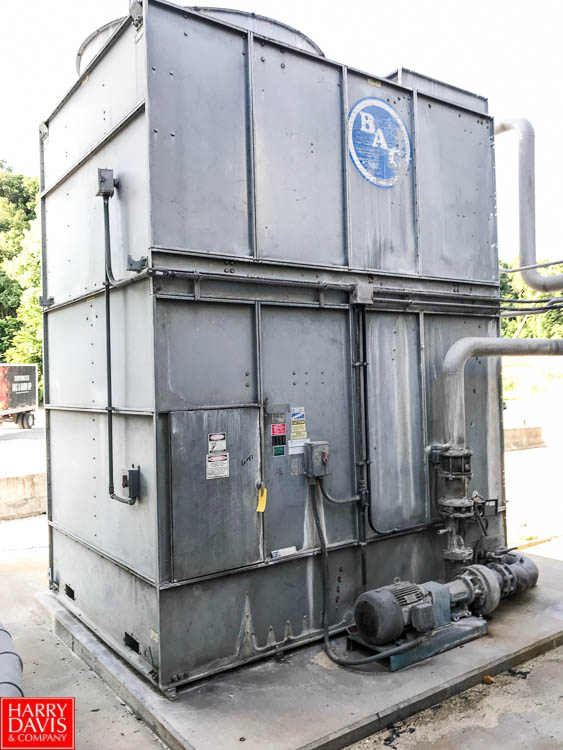 Lot 18 - BAC Cooling Tower, Model 15245, S/N 99212591, with Pump (Located in Seneca, MO) Rigging: $ 1000