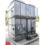 BAC Cooling Tower, Model 15245, S/N 99212591, with Pump (Located in Seneca, MO) Rigging: $ 1000