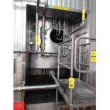 DCI 20,000 Gallon S/S Refrigerated Silo with Vertical Agitation and (2) Waukesha Cherry Burrell Air