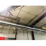 Can Conveyor to Filler Rooms with Cable and Drive, 250'+ (Located in Seneca, MO) Rigging: Contact