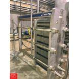Tetra Pak S/S Plate Heat Exchanger, Model C8-SH, S/N 30105-66845 (Located in Seneca, MO)