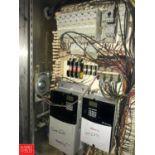 (2) Allen Bradley Powerflex 70 VFDs, Clamps and S/S Enclosure (Located in Seneca, MO) Rigging: