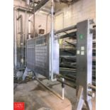 APV S/S Plate Heat Exchanger (Used for Chilled Water) with (2) Dividers (Located in Seneca, MO)