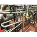 """2"""" S/S Holding Tube with (2) Flow Trend Air Valves (Located in Seneca, MO) Rigging: $ 150"""