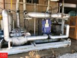 Lot 21 - 2011 GEA Skid Mounted Water Chilling System with Plate Heat Exchanger Model LWC100M-BYF-300, with (