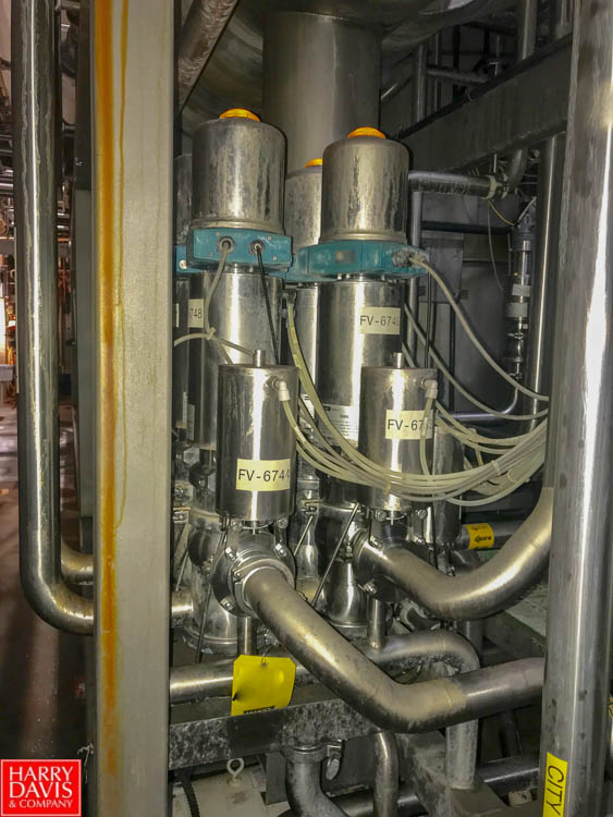 """Lot 50 - 2"""" S/S Control Top Air Valves (Located in Seneca, MO) Rigging: $ 200"""