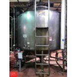 Mueller 2,000 Gallon S/S Dome Top Cone Bottom Processor with Scrape Surface Agitator and Waukesha