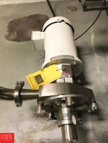 "Lot 2D - Fristam 5 HP Pump with Baldor 1,750 RPM Motor, 2"" x 2.5"" S/S Head, Clamp Type, Model FPX1741 ("
