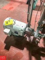 "Lot 1 - Fristam 10 HP Centrifugal Pump with Baldor 3,490 RPM S/S Clad Motor with 2"" x 2.5"" S/S Head, Clamp"