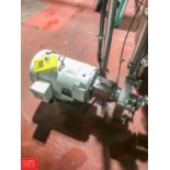 """Fristam 10 HP Centrifugal Pump with Baldor 3,490 RPM S/S Clad Motor with 2"""" x 2.5"""" S/S Head, Clamp"""