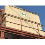 BAC Evaporative Condenser Model C2-843-J, S/N 94200186 Rigging: $ 4500