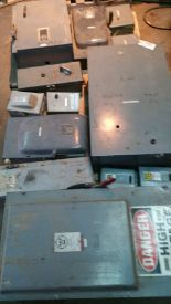 Lot 045 - Pallet of fuse disconnects.