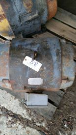 Lot 058 - 50 hp, 1750 RPM, 365 U-Frame, 3 ph, 480 volt.
