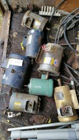 Lot 060 - (7) .5-2 hp motors, 3 ph, 480 volt.