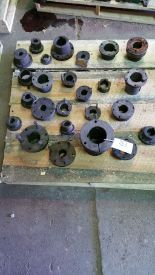 Lot 031 - (26) Pulley inserts sheves.
