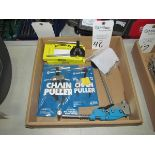 Chain Breakers w/ (2) Chain Pullers