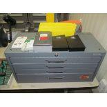 Huot Model 13585 Tap Organizer w/ Assorted Taps & Drills