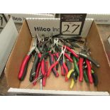 Assorted Plier Hand Tools