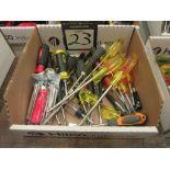 Blackhawk Assorted Screw Driver Hand Tools