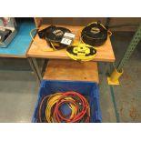 40' Retractable Pro Reel Power Cables