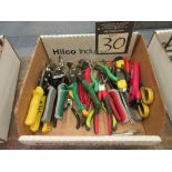 Assorted Cutting Hand Tools