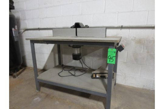 Router table with porter cable router keyboard keysfo Images