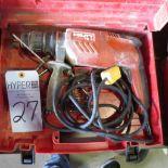 Lot 27 - Hilti TE1 Hammer Drill