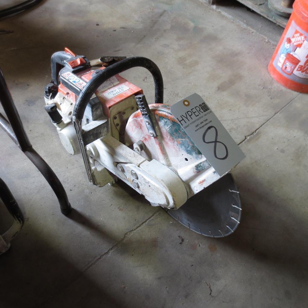 Lot 8 - Stihl TS460 Gas Cut Off Saw