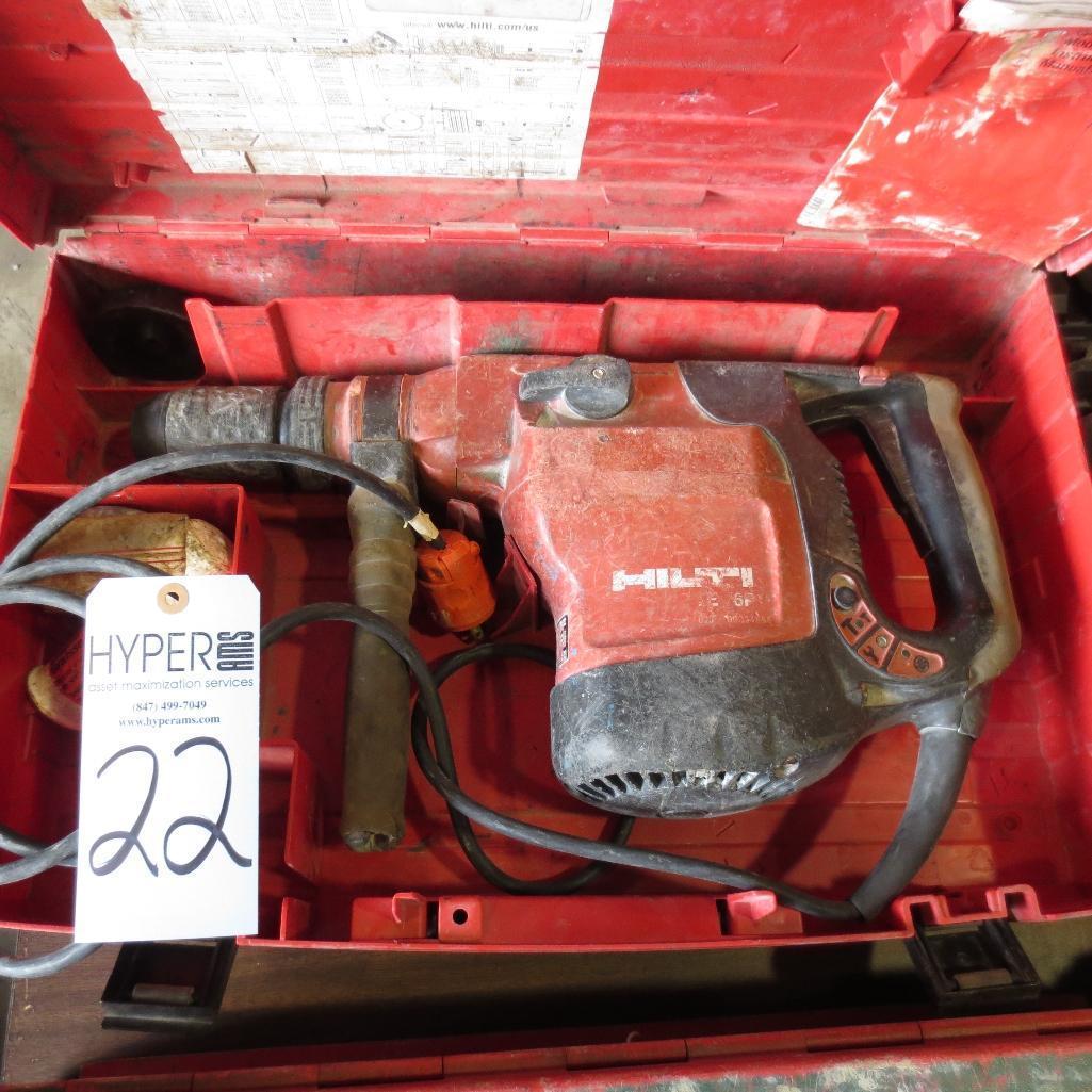 Lot 22 - Hilti TE76-P Hammer Drill