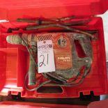 Lot 21 - Hilti TE50 Hammer Drill