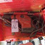 Lot 16 - Hilti TE-56 Hammer Drill