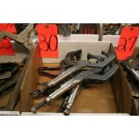 (6) Vise Grip Clamps