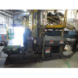 Lufkin Extruder With Emerson 60hp Motor & Control Cabinet, M/N DV150D-411