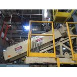 Lufkin Extruder With Emerson 60hp Motor & Control Cabinet, M/N DH150D-411, S/N 6705