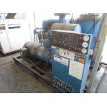 Quincy QSI-750 Air Cooled Rotary Screw Compressor With 150hp Baldor Motor, M/N QSI750ANA31C S/N 9203