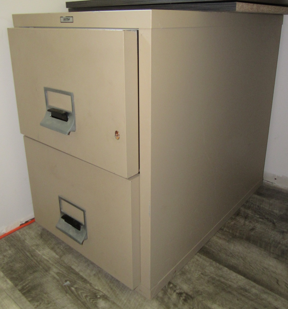 Lot 5 - Victor 2 Draw Fire Proof File Cabinet