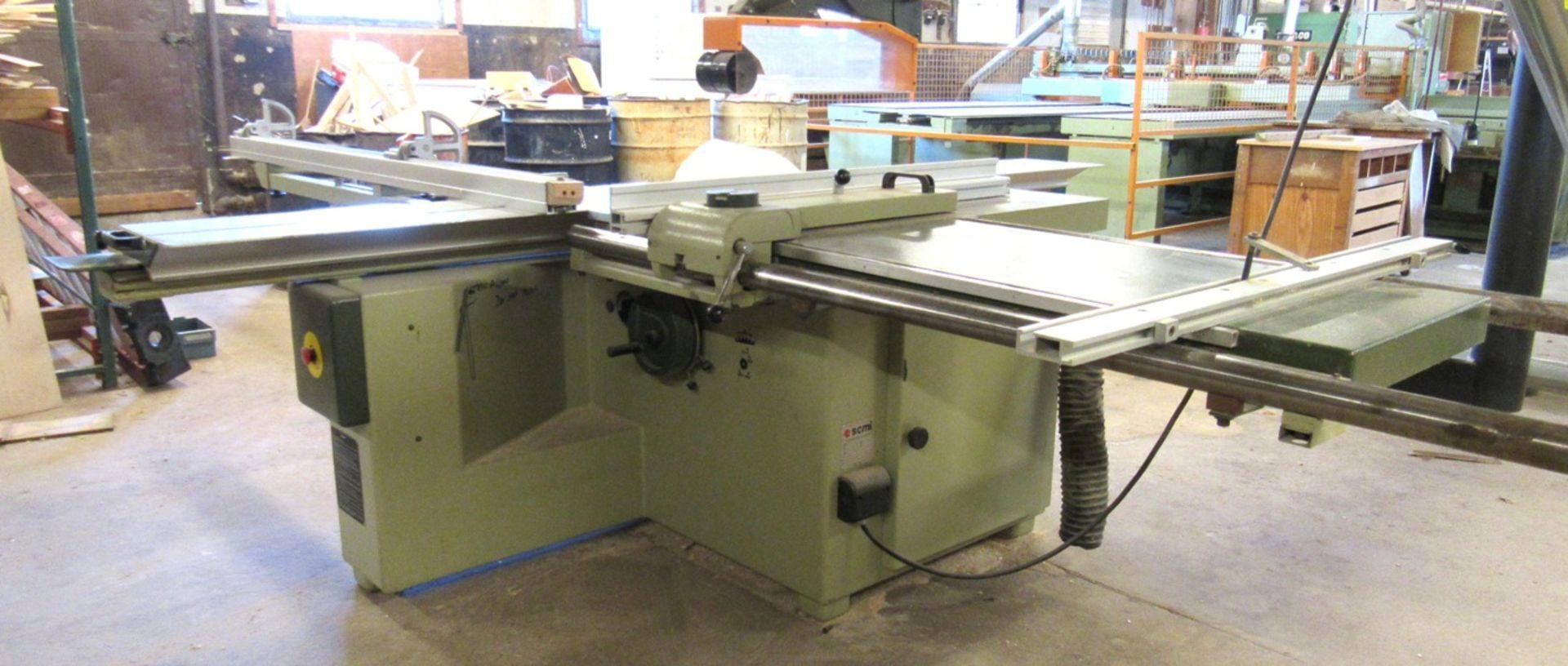 SCMI Mod.S116WA Sliding Table Saw