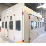 Guardian Garda 13'W x 23'L x 9'H Totally Enclosed Paint Booth