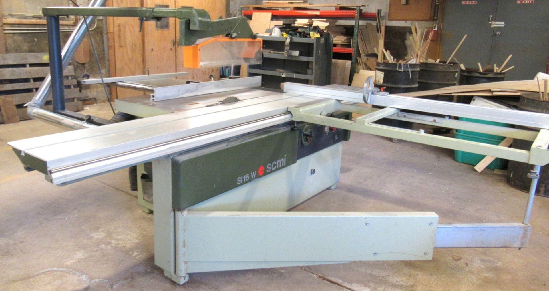 SCMI Mod.S116WA Sliding Table Saw - Image 2 of 7