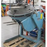 """IRCO AUTOMATION 3JC25 ELECTRIC WELDING POSITIONER WITH 24""""-3 JAW CHUCK, FOOT AND PENDANT CONTROLS,"""